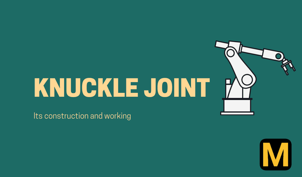 What is a Knuckle joint?