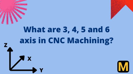 What is meant by 3, 4, 5, or 6-Axis CNC Machining?